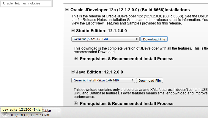 How to install JDeveloper 12c on OSX Mac 108 - Security Confessions