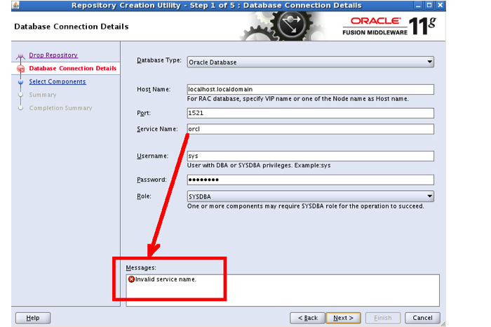 Whats my Oracle DB service name - Security Confessions
